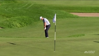 Bounce back: Rose holes out pitch shot for eagle