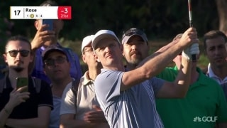 Highlights: Rose (67) two off lead at Turkish Airlines Open