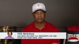 Tiger on Phil's streak: 'All good things come to an end'