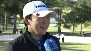 Shin (74): 'It was a long day with my putting'