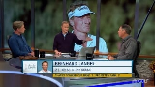 Does Langer get a pass for being slow because of respect?