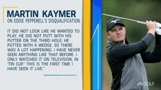 Kaymer on Pepperell's DQ: 'I've never seen anything like that before'