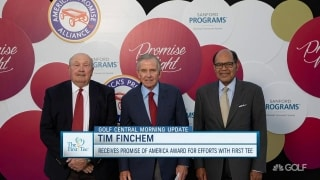 First Tee: Finchem honored with 'Promise of America' award