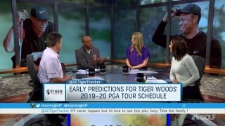 Where will Tiger play in 2020 before the Masters?