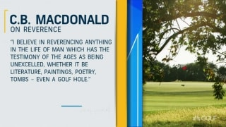 Timeless: C.B. Macdonald's notable quotes, pioneering course designs