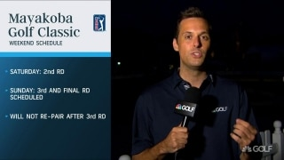 As weather still looms, Monday finish likely at Mayakoba