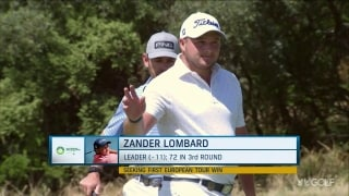 Nedbank leader Lombard eyes 'life-changing' first European Tour victory