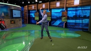 Chamblee breaks down Lee's gravity-influenced distance hack