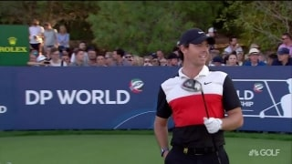 Highlights: McIlroy follows 64 with 74 to fall back in Dubai