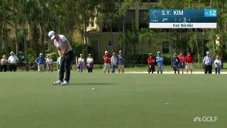 Early third-round highlights: S. Y. Kim extends lead at CME