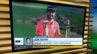 Rahm, the $5 million man, talks win in Dubai with Williams