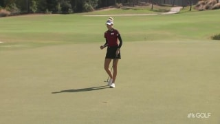Early highlights: N. Korda chasing S.Y. Kim at CME