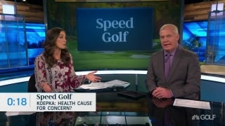 Speed Golf: Koepka's health a cause for concern in 2020?