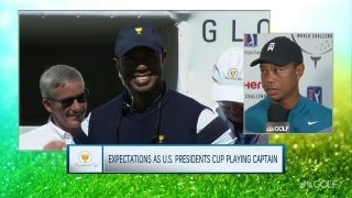 The man with many hats; Tiger talks TGR Foundation and Presidents Cup