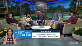 The best thing we heard from McIlroy in Studio AP
