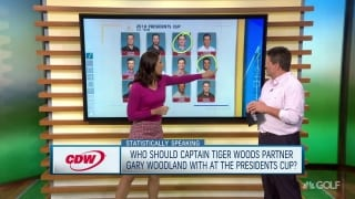 Statistically Speaking: Who pairs best with Woodland at Presidents Cup?