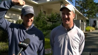 What are 'atomic' wedgies? Eli, Peyton explain on Day 1 at Pebble