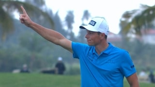 Highlights: Hovland birdies last hole for first win in Puerto Rico