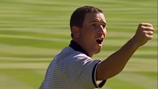 Great Moments in Time: Sergio reflects on Europe's massive win at 2004 Ryder Cup