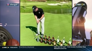 Azinger, Hicks break down Killen's putting practice with tequila