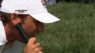Great Moments in Time: Sergio reflects on 2008 Ryder Cup