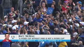 Golf Central Update: Should the Ryder Cup go on without fans?