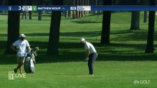 Highlights: Wolff (64), DeChambeau (67) one off lead at Rocket Mortgage