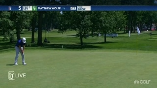 Highlights: Wolff leads DeChambeau, Armour by three at Rocket Mortgage