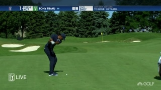 Highlights: Finau fires 65 with swing coach on bag at 3M Open