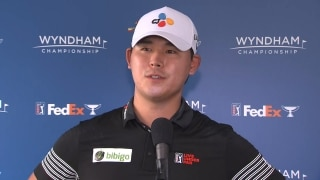 Leader Si Woo Kim (62): Hole-in-one was 'unexpected'