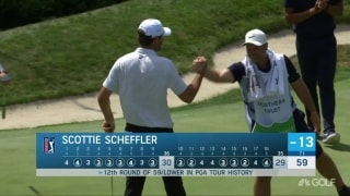 Highlights: Scheffler shoots 59, DJ follows with 60 at TPC Boston