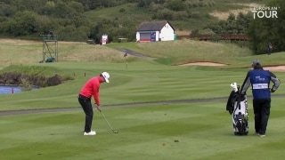 Highlights: Soderberg joins Syme in leading Wales Open