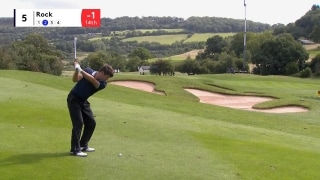 Rock gets robbed on No. 5 at Wales Open