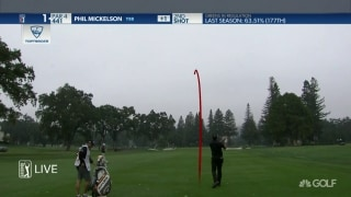 Highlights: Mickelson (71) scrambles at Safeway Open