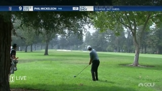 Highlights: Phil (70) bogey-free through 42 holes at Safeway