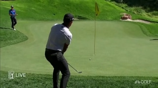 Highlights: Schauffele leads CJ Cup; Hatton three back
