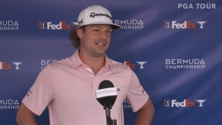 Bermuda leader Redman (67): 'It's exciting to have a chance'