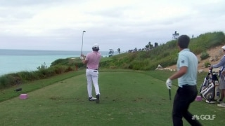 Highlights: Redman leads 3 others by 1 in Bermuda
