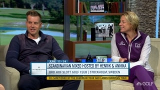 How Stenson, Annika teamed for Scandinavian Mixed