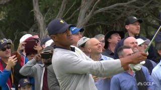 Finau secures huge halve in Saturday morning's anchor match
