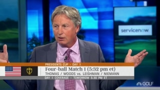 Chamblee breaks down Tiger's losing record when playing in first pairing