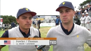 Thomas 'speechless' after he and Fowler blow huge lead