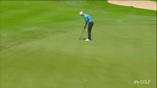 Highlights: Hill leads Mauritius Open; Stone three back