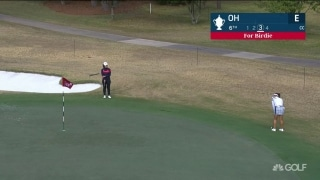 Oh drops birdie at sixth hole in first round USWO