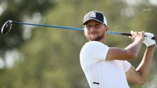 Phil paired with NBA star Curry at Safeway Pro-Am