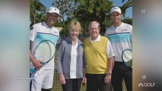 Best thing I saw: Nicklaus' join Bryan Brothers to support 'Fore Love' charity event