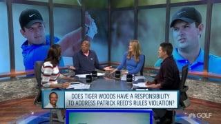 Does Tiger have a responsibility to address Reed's violation?
