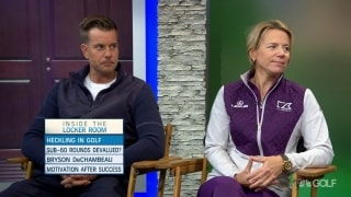 Stenson, Annika weigh in on heckling players