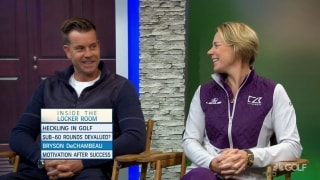 Annika talks 'bulking up': It's like golf... it takes time