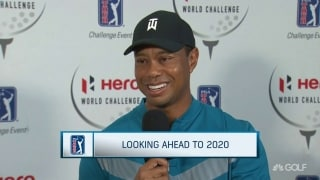 Woods has 'not even thought about' 2020 yet